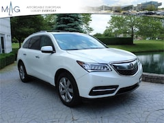 2014 Acura MDX 3.5L Advance Pkg w/Entertainment Pkg Sport Utility