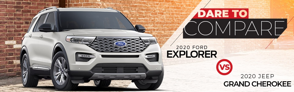 2020 Ford Explorer vs. 2020 Jeep Grand Cherokee | Hutchinson, KS