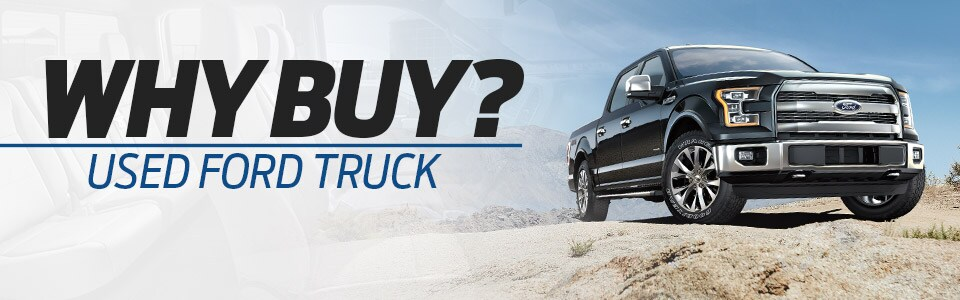 Why Buy a Used Ford Truck | Hutchinson, KS