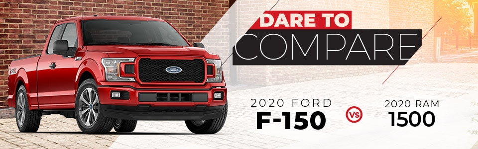 2020 Ford F-150 vs. 2020 Ram 1500 | Hutchinson, KS
