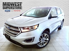 2017 Ford Edge Titanium SUV for sale in Hutchinson, KS at Midwest Superstore