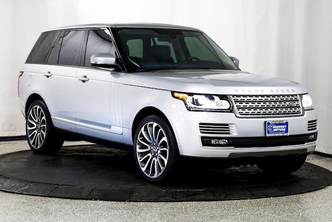 2014 Land Rover Range Rover 5.0L V8 Supercharged Autobiography SUV for sale in Lake Zurich, IL at Midwest Motors