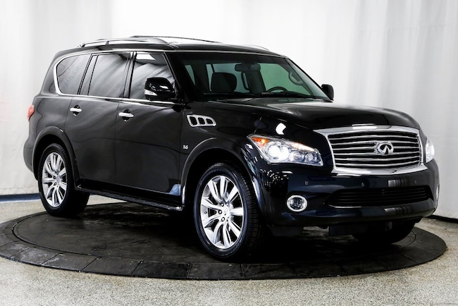 2014 INFINITI QX80 SUV for sale in Lake Zurich, IL at Midwest Motors