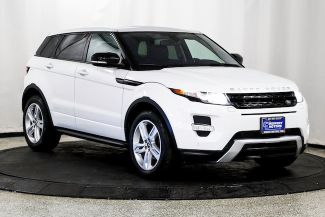 2013 Land Rover Range Rover Evoque SUV for sale in Lake Zurich, IL at Midwest Motors