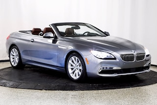 2016 BMW 640i Convertible WBA6F1C59GGT83117 for sale in Lake Zurich, IL at Midwest Motors