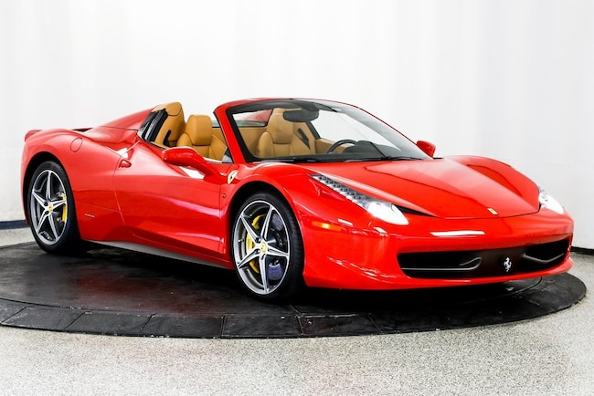 2014 Ferrari 458 Spider Base Convertible for sale in Lake Zurich, IL at Midwest Motors