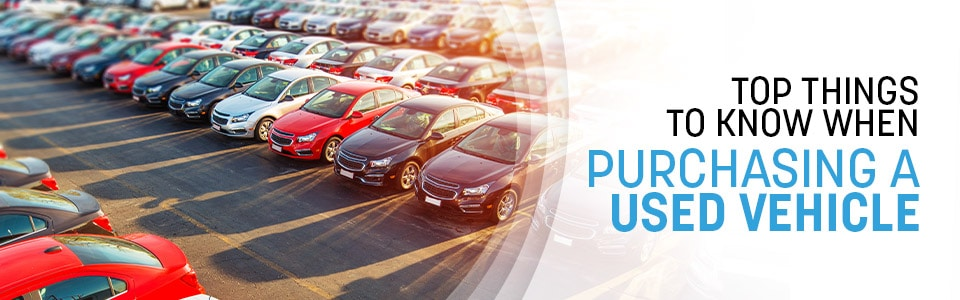 Things to Know When Buying a Used Vehicle in Hutchinson, KS