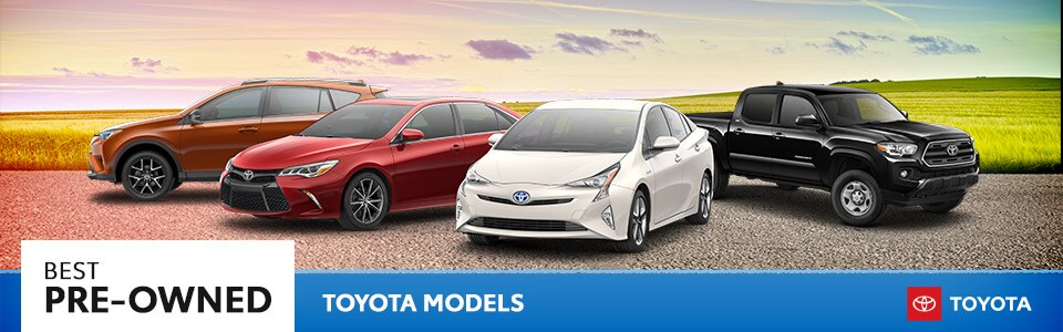 Best Pre-Owned Toyota Models | Hutchinson, KS