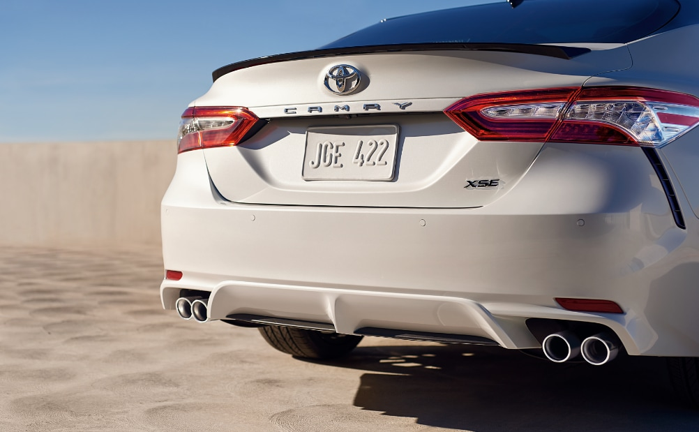 2018 Toyota Camry XSE Rear Exhaust