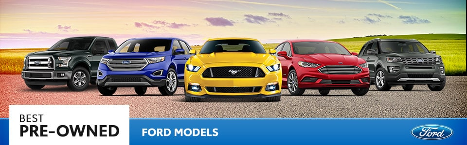 Best Pre-Owned Ford Models | Hutchinson, KS