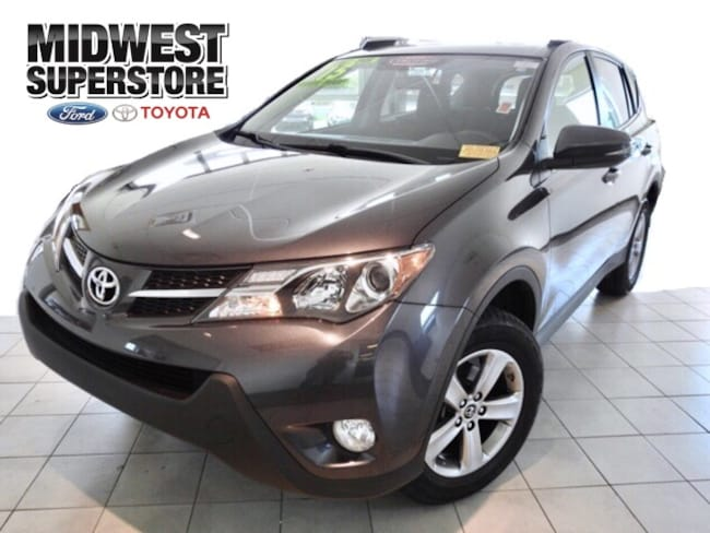 2015 Toyota RAV4 XLE SUV for sale in Hutchinson, KS at Midwest Superstore