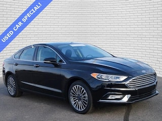 2018 Ford Fusion Titanium Sedan 3FA6P0D91JR187903 for sale in Hutchinson, KS at Midwest Superstore