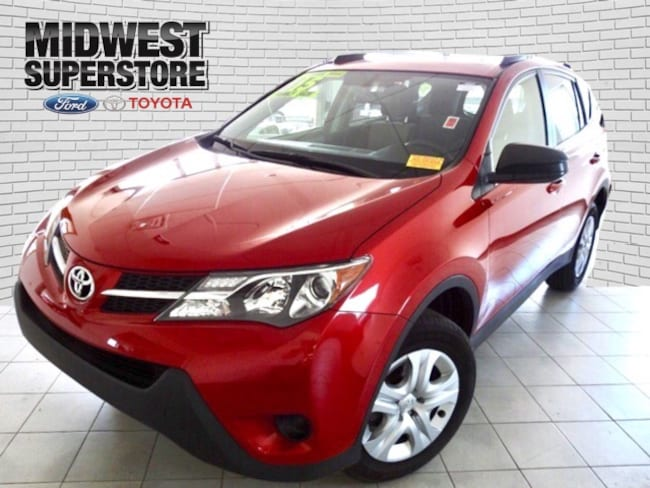 2015 Toyota RAV4 LE SUV for sale in Hutchinson, KS at Midwest Superstore