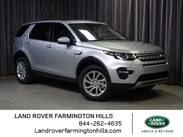 Featured Pre-Owned 2018 Land Rover Discovery Sport HSE SUV for sale in Farmington Hills, MI