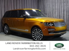 Used 2017 Land Rover Range Rover 5.0L V8 Supercharged Autobiography SUV in Farmington Hills near Detroit