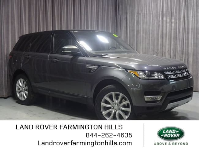 Pre-Owned 2016 Land Rover Range Rover Sport 3.0L V6 Supercharged HSE SUV in Farmington Hills, MI