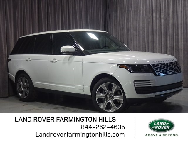 Featured New 2019 Land Rover Range Rover Supercharged SUV for sale in Farmington Hills, MI