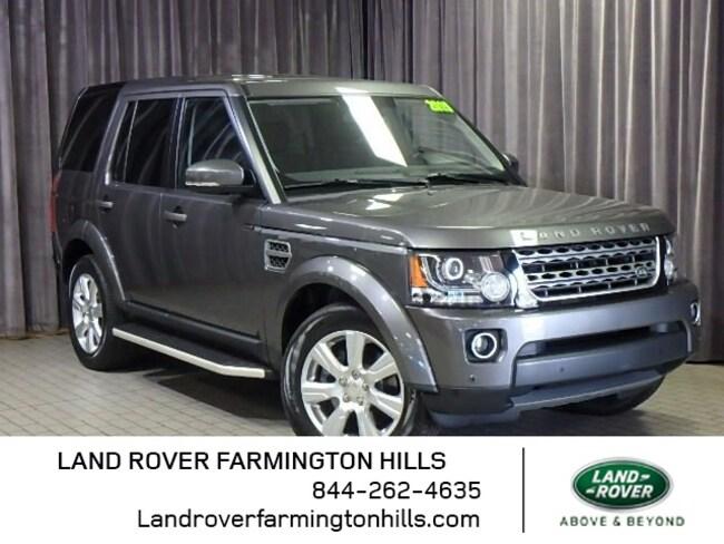 Pre-Owned 2015 Land Rover LR4 Base SUV in Farmington Hills, MI