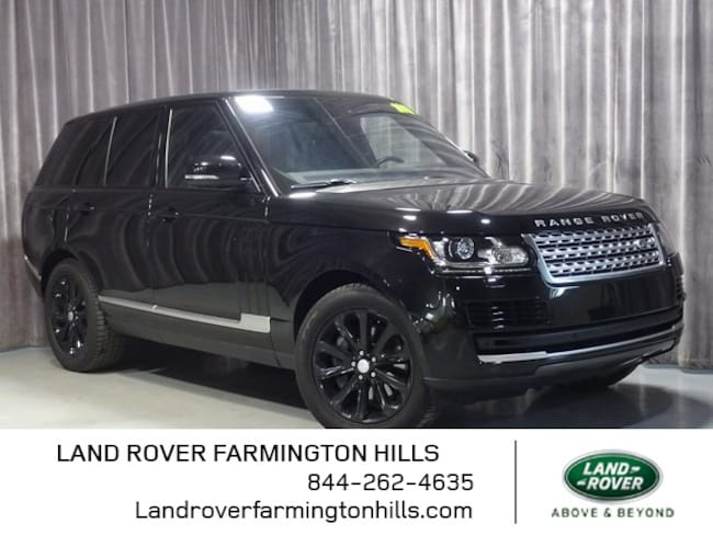 Pre-Owned 2016 Land Rover Range Rover 3.0L V6 Supercharged HSE SUV in Farmington Hills, MI