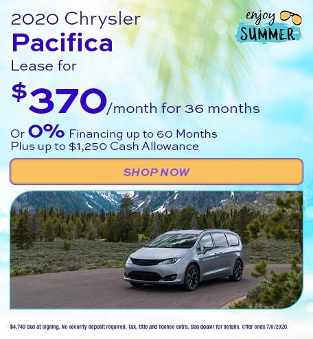 2020 Chrysler Pacifica - June Offer