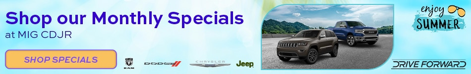 June Specials at MIG CDJR