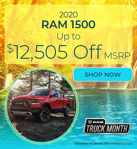 New 2020 Ram 1500 - April Offer