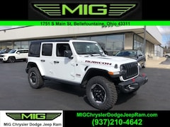 New 2021 Jeep Wrangler UNLIMITED RUBICON 4X4 Sport Utility For Sale in Bellefontaine, OH