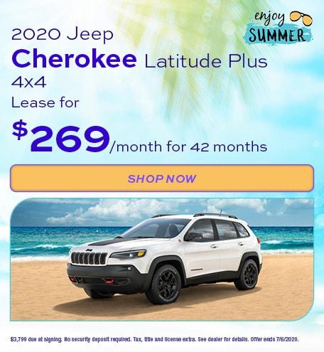 2020 Jeep Cherokee - June Offer