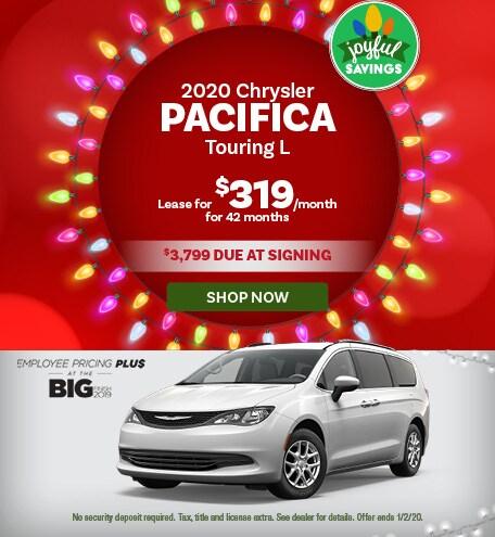 2020 Chrysler Pacifica - December Offer