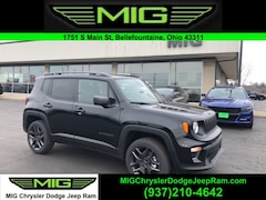 New 2021 Jeep Renegade 80TH ANNIVERSARY 4X4 Sport Utility For Sale in Bellefontaine, OH