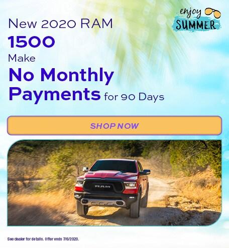2020 Ram 1500 - June Offer