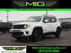 New 2020 Jeep Renegade ALTITUDE FWD Sport Utility For Sale in Bellefontaine, OH
