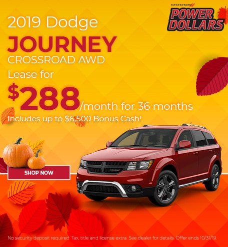 Dodge Journey October Special