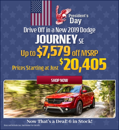 2019 Dodge Journey - February Offer