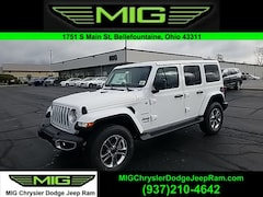 New 2021 Jeep Wrangler UNLIMITED SAHARA 4X4 Sport Utility For Sale in Bellefontaine, OH