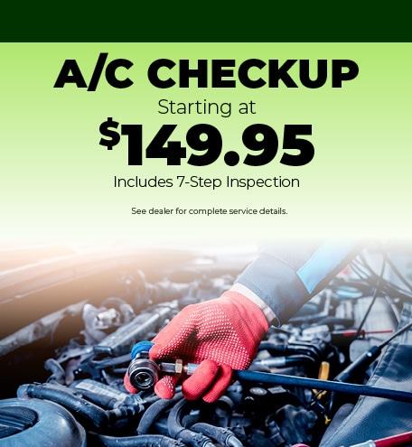 A/C Checkup