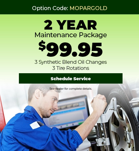 2 Year Maintenance Package