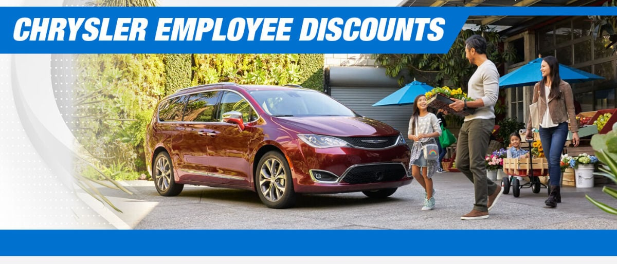 Chrysler employee discounts