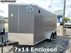 2021 Rhino Safari 7x14 Enclosed