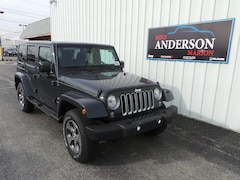 2017 Jeep Wrangler Unlimited Sahara 4x4 SUV T4334 for sale at Mike Anderson Dodge Chrysler Jeep and Ram in Marion, IN