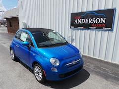 2017 FIAT 500c Pop Convertible C4345 for sale at Mike Anderson Dodge Chrysler Jeep and Ram in Marion, IN