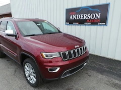 2017 Jeep Grand Cherokee Limited 4x4 SUV T4106 for sale at Mike Anderson Dodge Chrysler Jeep and Ram in Marion, IN