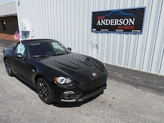 2017 FIAT 124 Spider Abarth Convertible C4338 for sale at Mike Anderson Dodge Chrysler Jeep and Ram in Marion, IN
