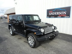 2017 Jeep Wrangler Unlimited Sahara 4x4 SUV T4302 for sale at Mike Anderson Dodge Chrysler Jeep and Ram in Marion, IN