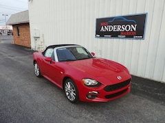 2018 FIAT 124 Spider Lusso Convertible C4372 for sale at Mike Anderson Dodge Chrysler Jeep and Ram in Marion, IN
