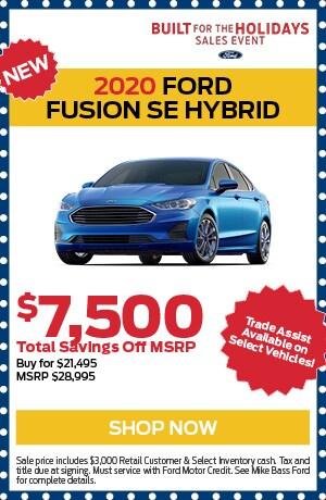 New 2020 Ford Fusion SE Hybrid