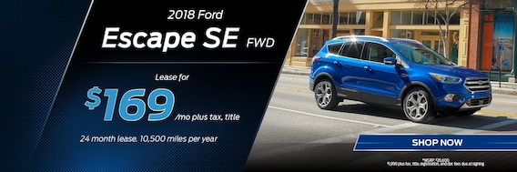 Ford Escape Lease Deals >> Ford Escape Lease Deals Elyria Oh Mike Bass Ford Specials