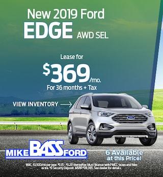 New 2019 Ford Edge AWD SEL