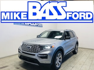 2020 Ford Explorer Platinum SUV 1FM5K8HC1LGD19332 for sale near Elyria, OH at Mike Bass Ford