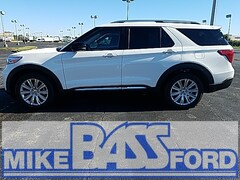 2021 Ford Explorer Limited SUV 1FMSK8FH0MGB87411 for sale near Elyria, OH at Mike Bass Ford